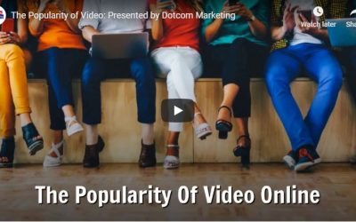 The Popularity Of Video Online
